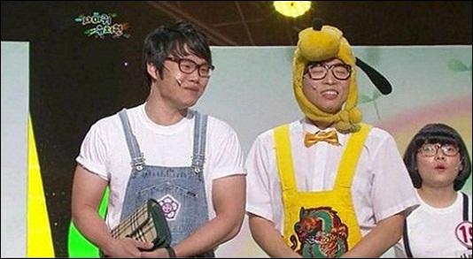 KBS 2TV <개그콘서트>의 '사마귀 유치원' 속 한 장면.