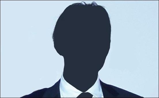 방송인 A씨 '동영상' 파문을 일으킨 대만계 미국인 허모씨. 이 이미지는 이번 방송인 A씨의 '동영상' 파문을 일으킨 대만계 미국인 허모씨의 실제 사진을 기반으로 실루엣 처리했다.
