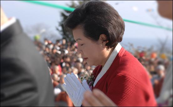대통령 부인 김윤옥씨