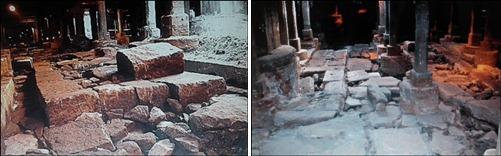 오간수문을 비롯하여 역사 유물들로 가득했던 청계천입니다.