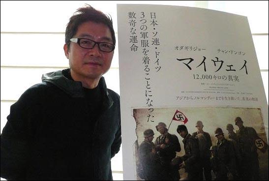 <마이웨이> 홍보 위해 일본을 방문한 강제규 감독