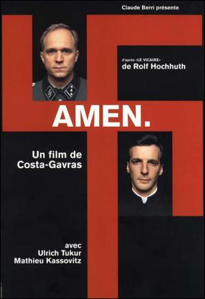 영화 <아멘> 메인 포스터