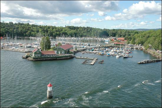 2007년 북유럽 여행시 노르웨이 오슬로 주변 항구에서 촬영한 요트의 모습