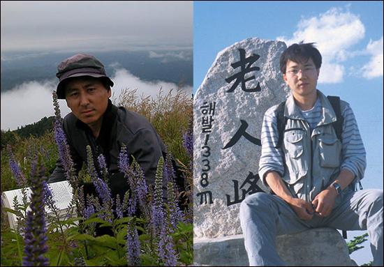 공저자인 김태영씨(왼쪽)와 김진석씨(오른쪽)
