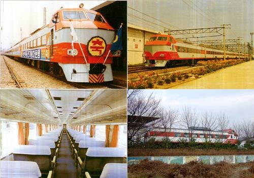 우리나라 특급형 전동차의 효시인 EEC차량 (1980~2000)
