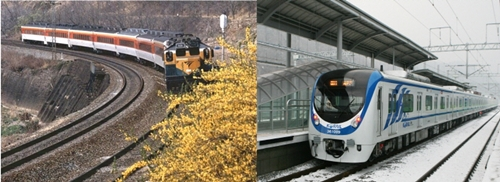 철도차량의 두 가지 형태: 기관차 견인 방식, 동차 방식