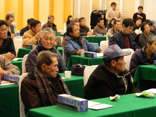 이 날 토론회는 충남 청양군 주민 50여 명이 참석한 가운데 진행됐다.
