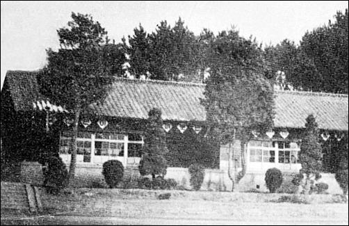 하반영이 다녔던 군산의 신풍초등학교 전경. 1960년대 모습.