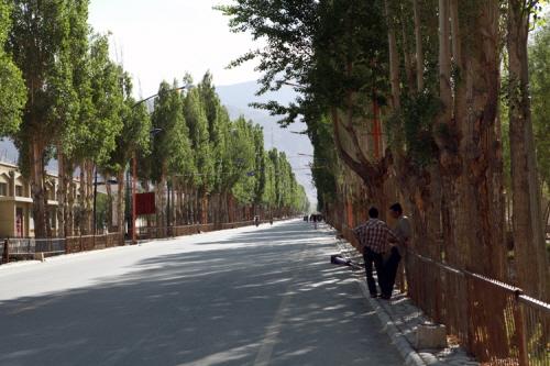 중국 국경 마을 타쉬쿠르칸.