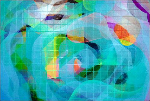 그림1 김은영의 그림은 마음속에 내재한 모든 기운을 그려내는 것이라고
