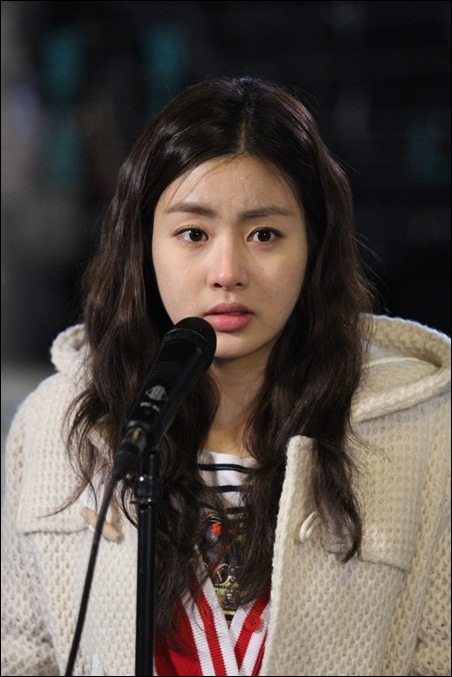 KBS 2TV <드림하이2>에 출연하는 배우 강소라.
