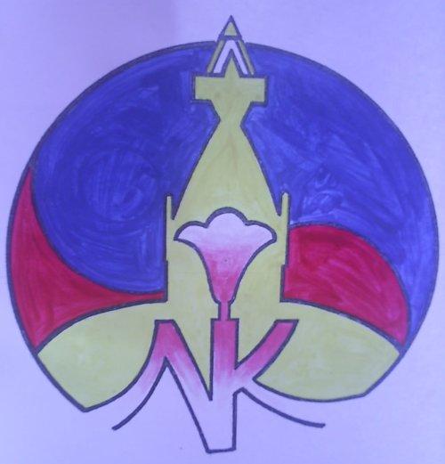 네팔한국문화센타 로고 지난 2006년 한국에서 네팔현대미술전시회를 열었다. 당시 필자의 초청을 받은 네팔예술대학교수인 라데샴 물미 선생이 만들어준 로고를 이제 사용하게 되었다. 그는 자문위원을 맡아주기로 했다.