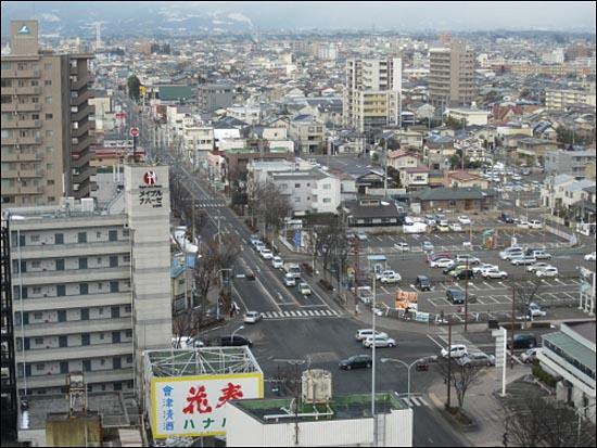 지난 1월 촬영한 후쿠시마역 인근의 풍경