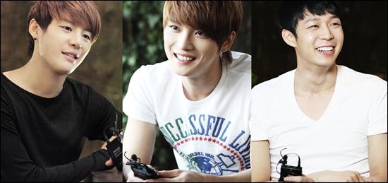 (좌로부터) JYJ 김준수, 김재중, 박유천