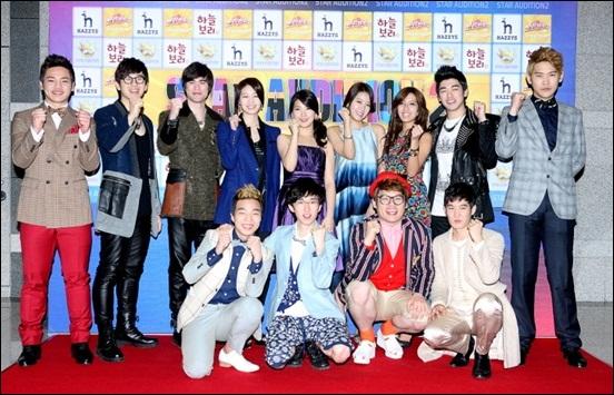 <위탄2> 생방송 진출자들