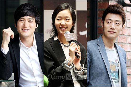 최근 개봉되거나 개봉예정인 영화에서 열연해 주목을 받고 있는 배우 중 한국예술종합학교 출신들이 눈에 많이 띈다. 왼쪽부터 영화<화차>의 배우 박상우,  <은교>의 배우 김고은, <화차>의 배우 이희준.