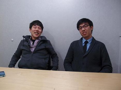 UCAN 대표 김덕현씨(왼쪽)와 단쿠키 대표 김보성씨를 만났다.