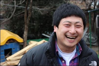 개 짖는 날, 아들 역, 윤준기 배우