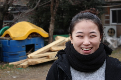 개 짖는 날, 며느리 역, 오설화 배우