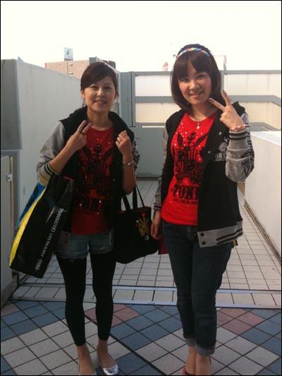 일본 오사카 교세라돔에서 21~23일 열린 콘서트 '동방신기 LIVE TOUR 2012~TONE~'을 찾은 일본 팬들