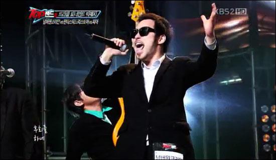 12일 방송된 <탑밴드2>에서 피아와 트리플 토너먼트 경연을 펼친 넘버원 코리안