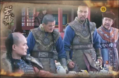 MBC 드라마 <무신>의 몽골족 장수들.
