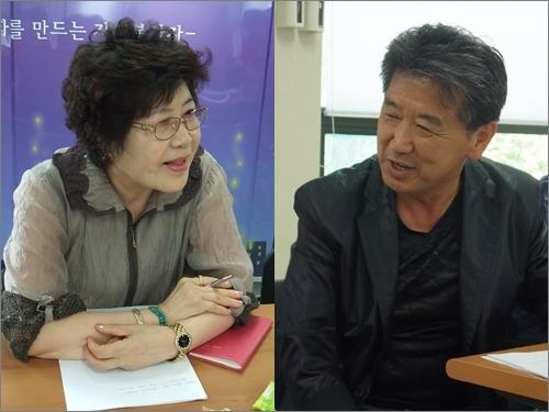 인천 동구 송현동 주민 신민자(왼쪽) 씨와 방현주 씨는 노인참여예산제 준비팀에서 많은 것을 배웠다고 했다.