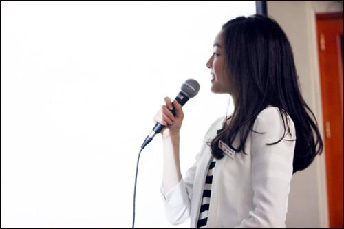 교생실습 중인 김연아