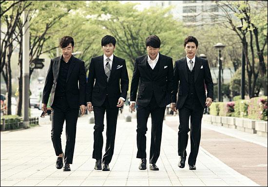SBS <신사의 품격>의 꽃중년 4인방