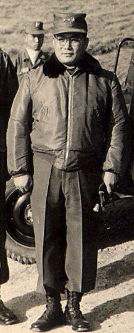 5.16 쿠데타 당시 진압을 주장했던 이한림 제1군사령관의 당시 모습(육군 중장).
