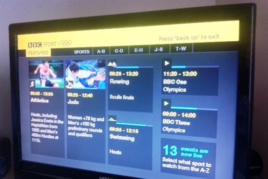 BBC TV 올림픽 방송 스트림