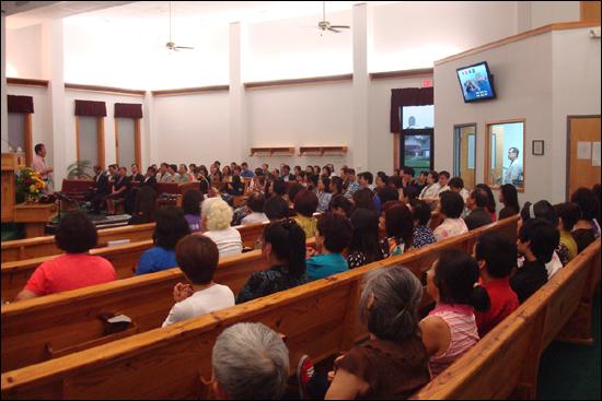 미국 켄터키 주에 위치한 머레이 주립대학교(Murray State University)에서 교환교수로 근무하고 있는 최장근 교수(대구대 독도영토학연구소 소장)가 지난 15일 한 한인교회 200여명이 참석한 가운데 독도특강을 개최했다.