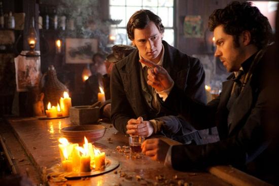 영화 <링컨: 뱀파이어 헌터> 한 장면