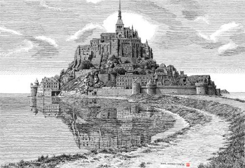 프랑스 생말로 몽생미셸