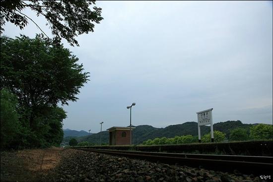 2007년 6월부터 기차가 서지 않는 폐역이 된 다솔사역