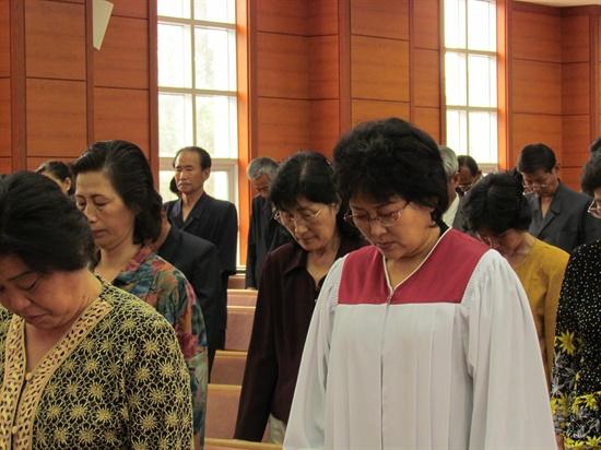 평양봉수교회 성가대