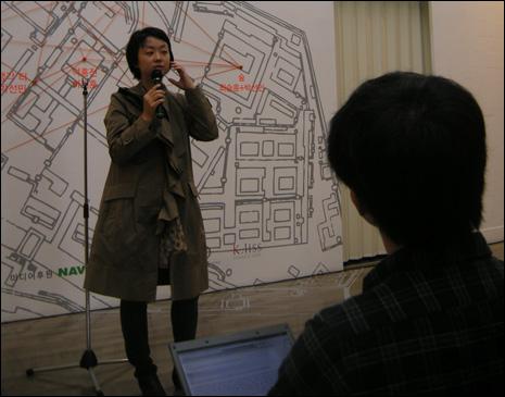 이번 전을 기획한 국립현대미술관 김인혜 학예연구사의 전시설명