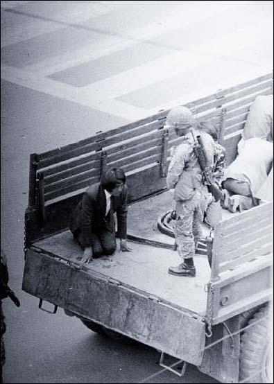 5.18 광주민주항쟁 당시 모습.