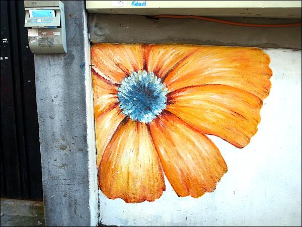 벽화 그렇게 겉만 살짝 예뻐진 것이 아니라, 벽화는 그 이상을 준 것이 아닐까 싶다.