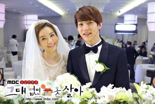 MBC에서 방영중인 드라마 <그대없인못살아> 한 장면. 극 중 민도역을 맡은 박유환(오른쪽)은 결혼과 함께 처가로 들어가 살게 된다. 자신을 못마땅해 하던 장모와 갈등을 보이기도 한다.