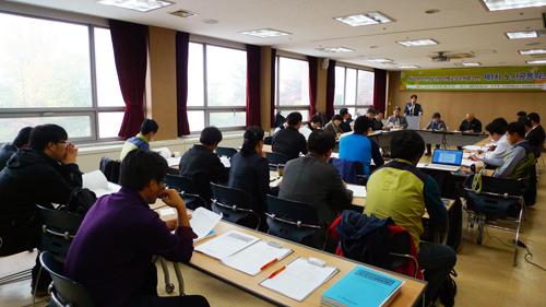 보건의료노조는 11월 8일 보건의료산업 2013년 산별교섭 준비를 위한 제1차 노사공동워크숍을 진행했다