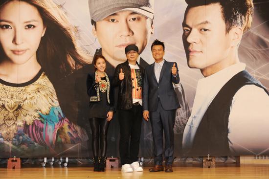 SBS 'K팝스타' 시즌2의 제작발표회가 열린 9일 오후 2시 목동사옥 SBS홀에 심사위원인 보아·양현석·박진영이 참석했다.