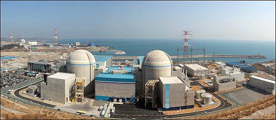 4일 준공식을 여는 신고리 1·2호기 핵발전소.