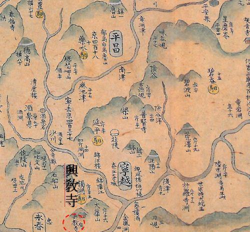 영월, 주천, 평창 옛 지도