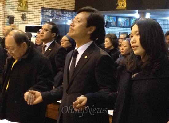'민주주의자' 김근태 민주통합당 상임고문의 1주기 추모행사