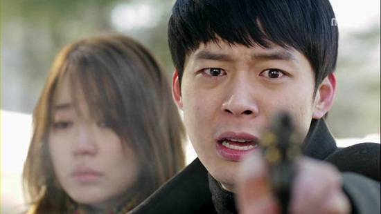 지난 9일 방영한 MBC 수목드라마 <보고싶다>에 출연한 박유천