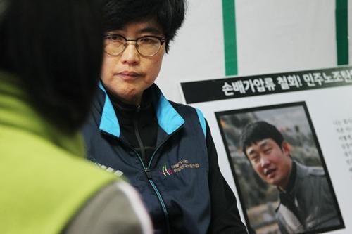 김진숙 민주노총 부산지역본부 지도위원.