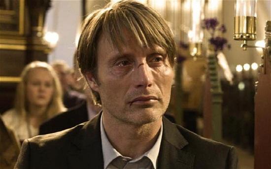 24일 개봉을 앞둔 영화 <더 헌트>에 출연한 덴마크 배우 매즈 미켈슨
