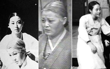 1960~70년대 드라마 대부분은 엄한 시어머니와 그에 복종하는 며느리의 모습을 담아냈다. <아씨><여로><마부>의 한장면 (왼쪽부터)