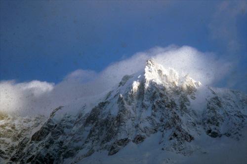 에귀디 미디(Aiguille Du Midi, 3842m)